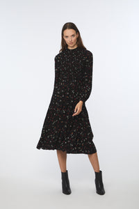 AYLIAH DRESS - NIGHT FLORAL