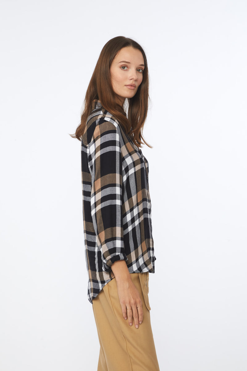 CHARLEY SHIRT - SMOKEY BROWN