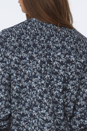 ANNINA SHIRT - BLUE HYACINTH