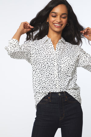 ALANNA SHIRT - DOT OR NOT
