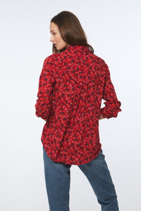ALANNA SHIRT - ROSE