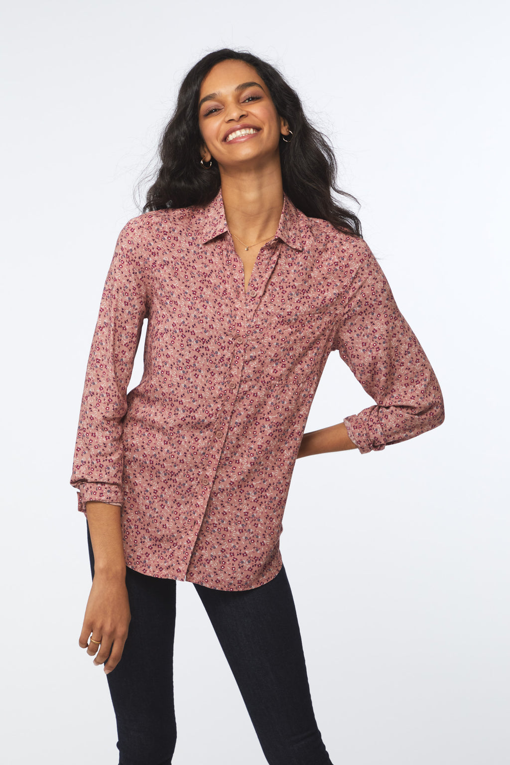ALANNA SHIRT - DUSTY DITZIES
