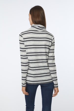 SHAYNA SWEATER - CLOUD STRIPE