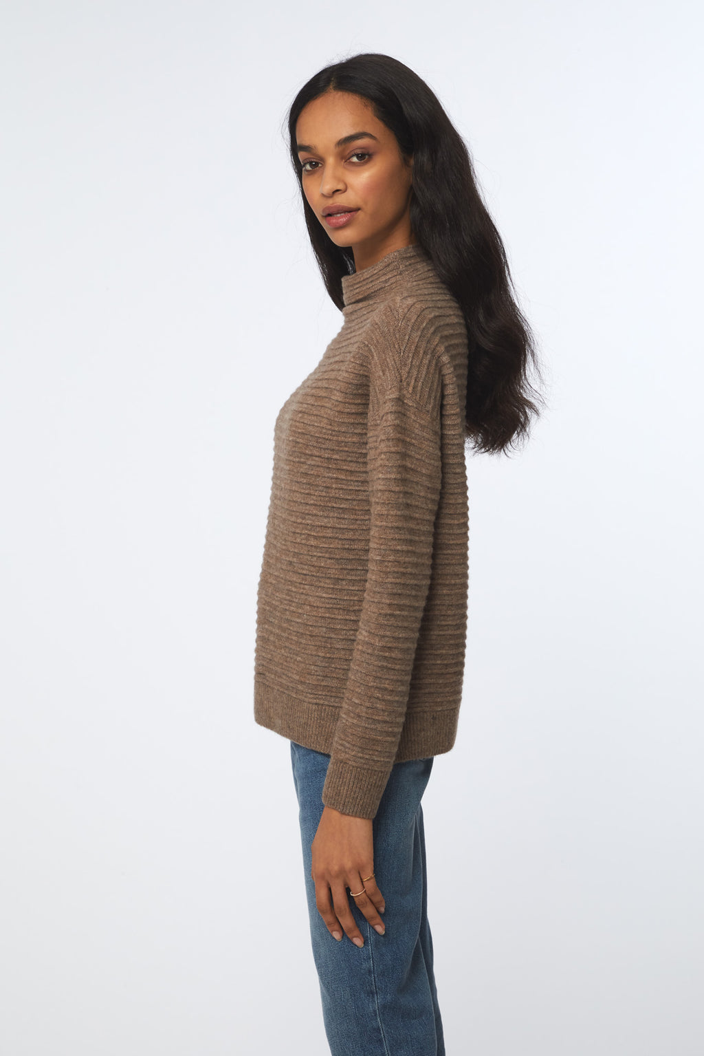 TYLEE SWEATER - TAUPE