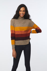 PORTIA SWEATER - TAUPE HEATHER