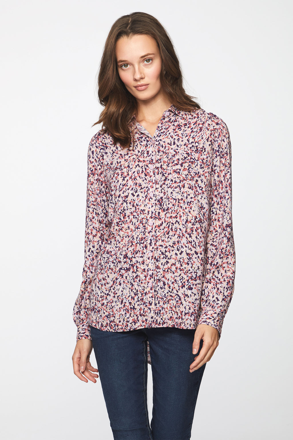 ALANNA SHIRT - ROSE GARDEN