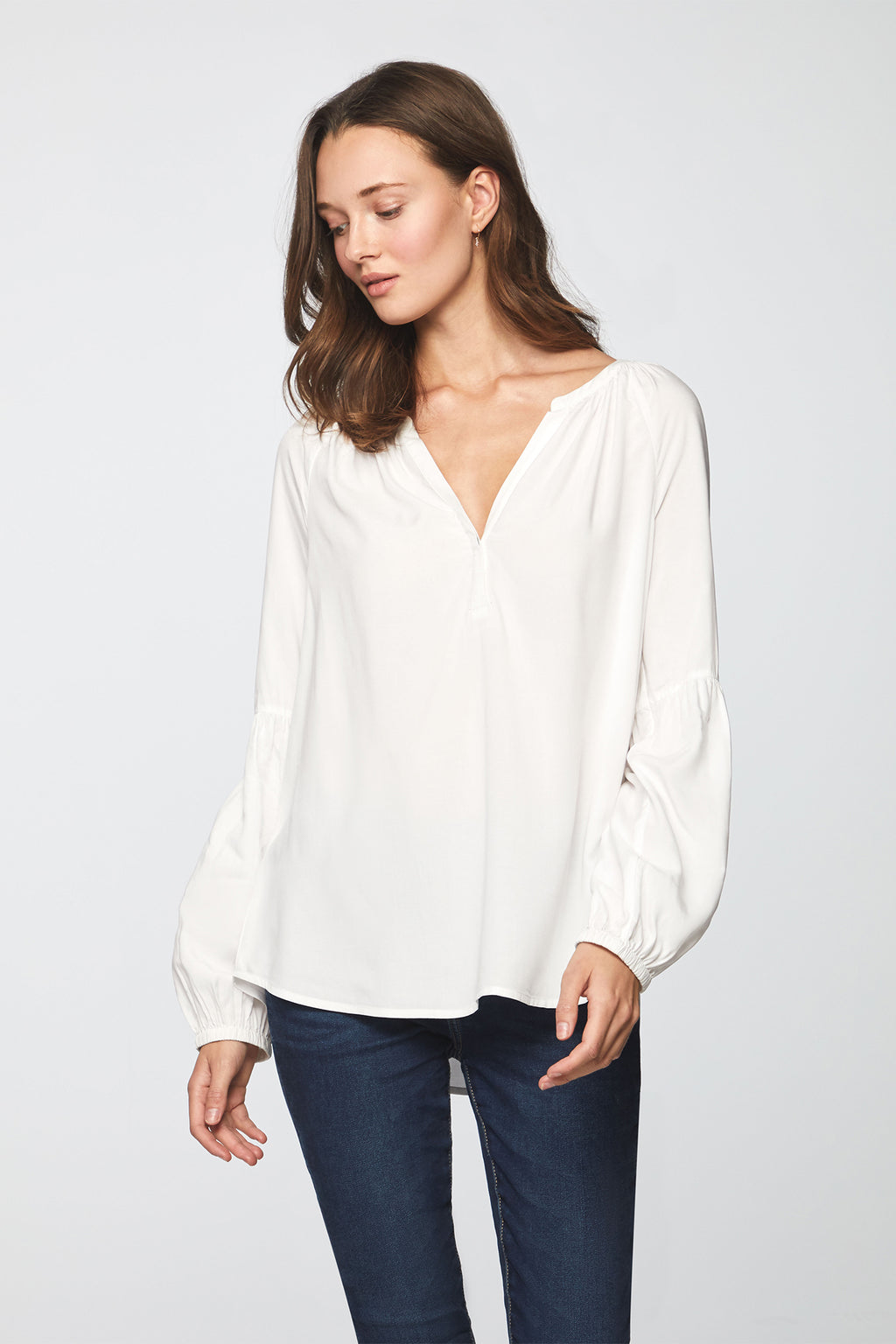 MINDY TOP - WHITE