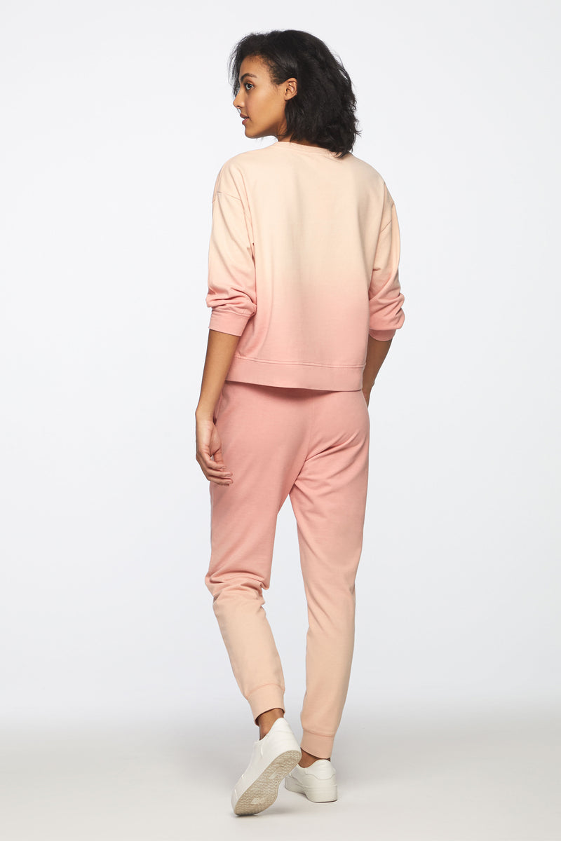 TAMI TOP - GRAPEFRUIT OMBRE