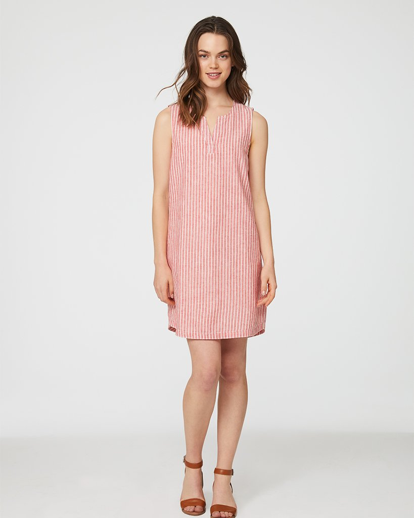 Jaylene Dress - Guava