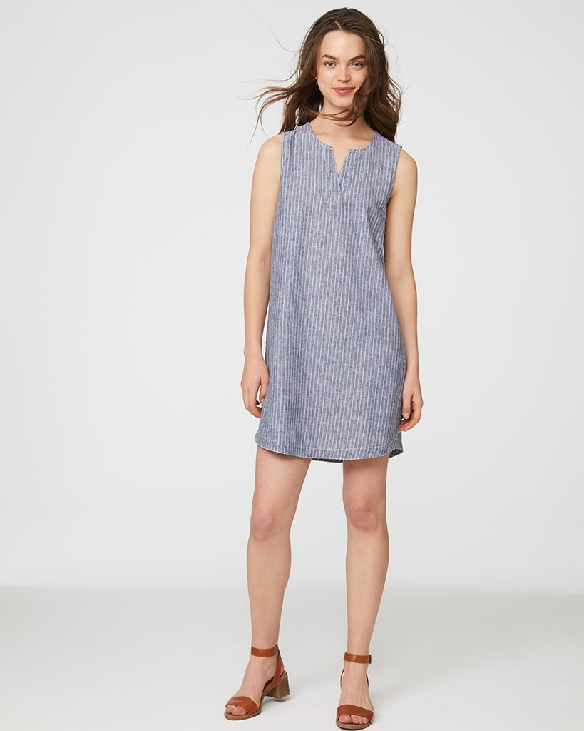 Jaylene Dress - Indigo