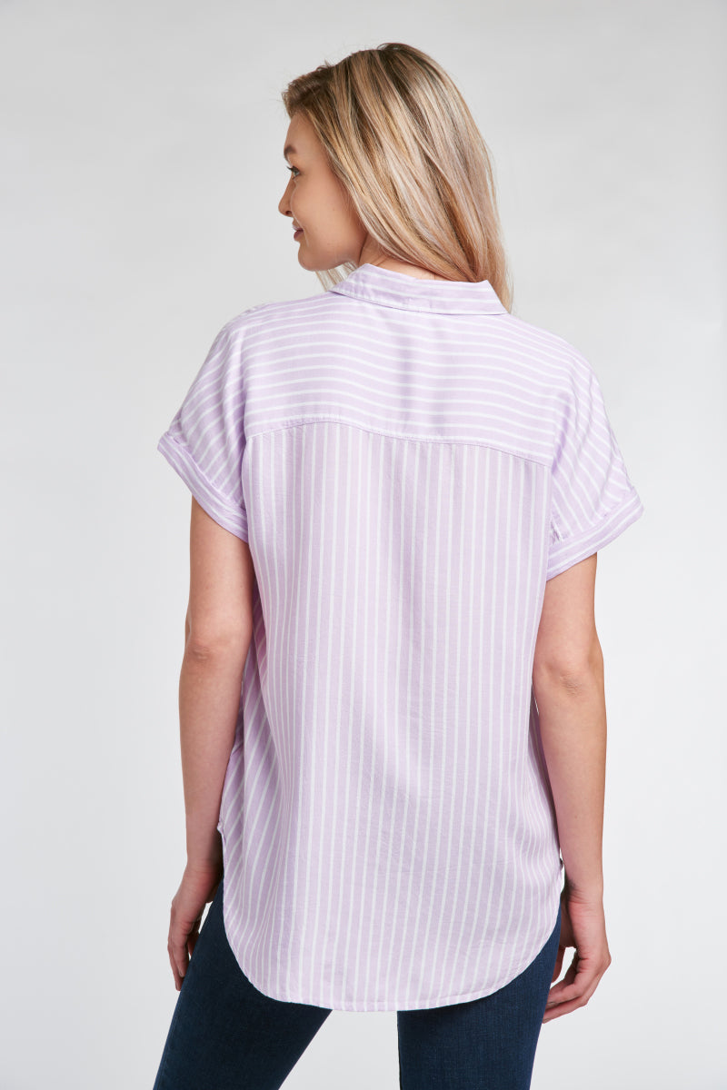 SPENCER SHIRT - LIGHT LILAC