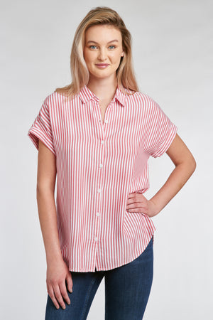 SPENCER SHIRT - RED LINES