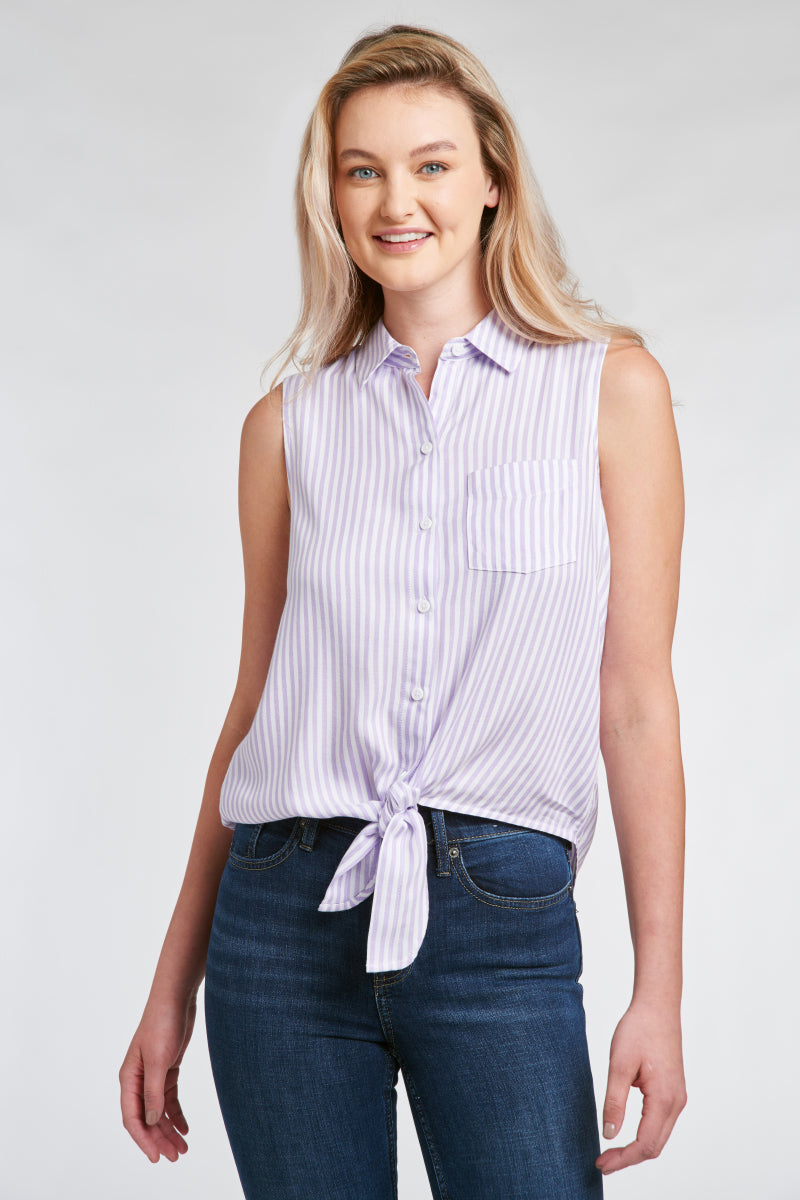 JANERA SHIRT - PURPLE HEATHER