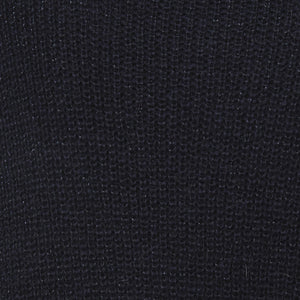 LUNA SWEATER - NAVY LUREX