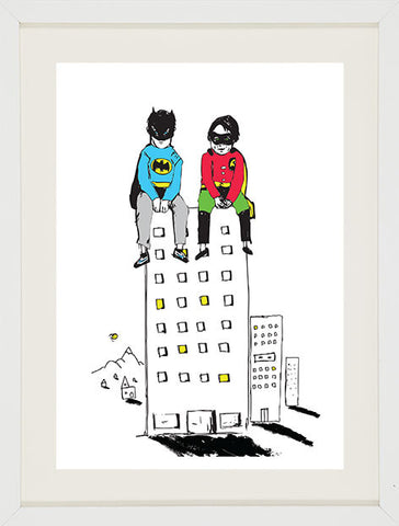 Batman & Robin in Gotham