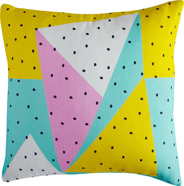 Colour Blocking cushion cover Pre-order