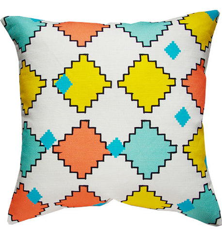 Kilim cushion cover in multi-colours
