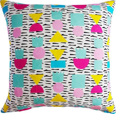 King of Shapes cushion cover