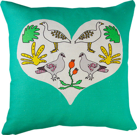 Love Nature cushion cover