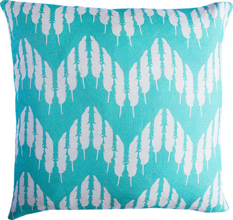 Feather Zig Zag in Mint