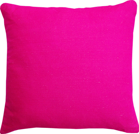 Plain Hot Pink cushion cover