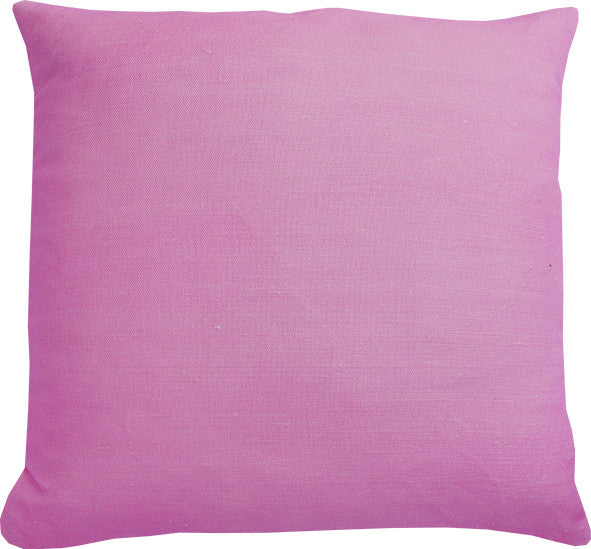 Plain Pastel Pink cushion cover