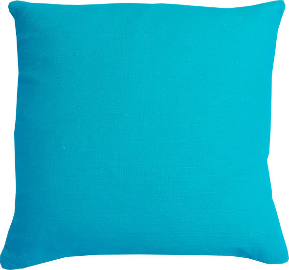 Plain Turquoise cushion cover