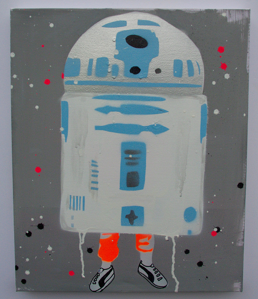 R2-D2 painting
