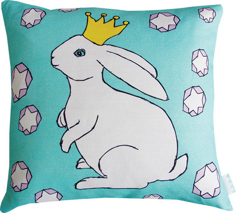 Rabbit Princess cushion cover