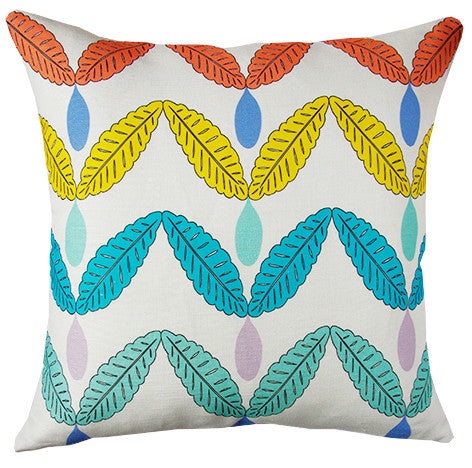 Rain Catcher cushion cover in multi-colours