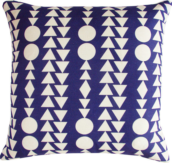 Shape Columns midnight cushion cover Pre-Order