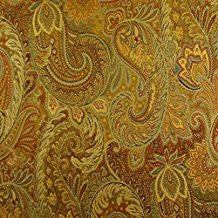 Drama Queen Paisley Decorator Fabric by TFA, Upholstery, Drapery, Home Accent, Textile Fabric Associates,  Savvy Swatch