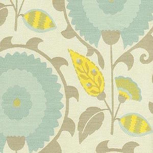 652960 Flor Feliz Flint Decorator Fabric by PK Lifestyles, Upholstery, Drapery, Home Accent, P/K Lifestyles,  Savvy Swatch