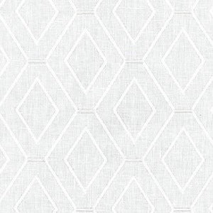653990 Diamond Duo Emb Frost Decorator Fabric by Waverly 3.8 yds, Upholstery, Drapery, Home Accent, Waverly,  Savvy Swatch