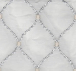 700481 Williamsburg Dabney Emb Sterling Decorator Fabric by Waverly, Upholstery, Drapery, Home Accent, Waverly,  Savvy Swatch