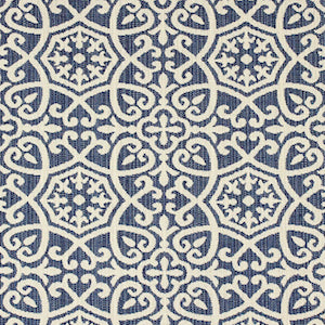 Ayathena Sapphire Acrylic Richloom Fortress Indoor/Outdoor Fabric, Upholstery, Drapery, Home Accent, TNT,  Savvy Swatch