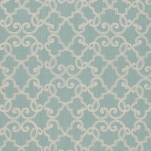 TFA All Tied Up in Aqua Upholstery Decorator Fabric, Upholstery, Drapery, Home Accent, TFA,  Savvy Swatch