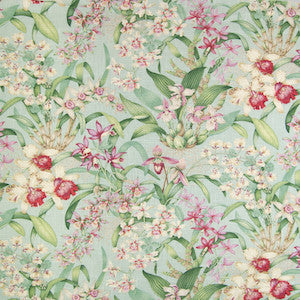 B2352 SilverSage Greenhouse Wild Orchid Silversage Covington Fabric, Upholstery, Drapery, Home Accent, Greenhouse,  Savvy Swatch
