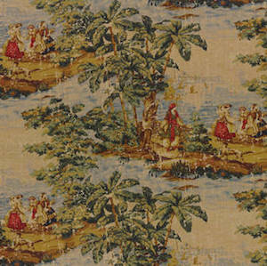Covington Bosporus Billard Fabric 5.6 yard piece, Upholstery, Drapery, Home Accent, Covington,  Savvy Swatch