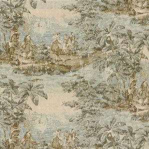 Bosporus 197 Flax Decorator Fabric by Covington 2.7 YARDS, Upholstery, Drapery, Home Accent, Covington,  Savvy Swatch