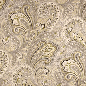 Richloom Barilla Printed Cotton Linen Drapery Fabric in Greystone, Upholstery, Drapery, Home Accent, Richloom,  Savvy Swatch