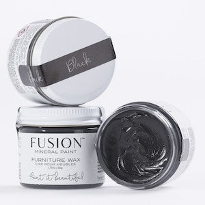 Black Furniture Wax - Fusion Mineral Paint