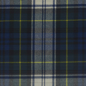 Burnett AT-207 Gordon Plaid Wool Fabric