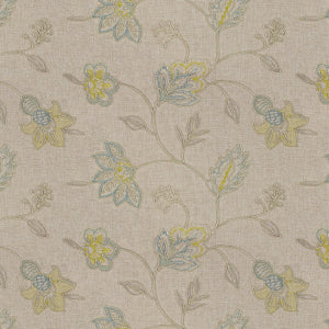 Richloom Clipperton Capri Decorator Fabric, Upholstery, Drapery, Home Accent, Richloom 2,  Savvy Swatch