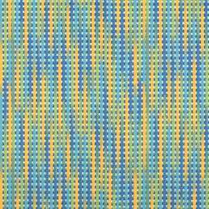 Covington Reggae Stripe Capri Blue 512 Stripe Indoor/Outdoor Decorator Fabric, Upholstery, Drapery, Home Accent, Covington,  Savvy Swatch