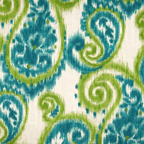 Carravagio Paisley Tourmaline Decorator Fabric By Richloom, Drapery, Home Accent, Richloom,  Savvy Swatch