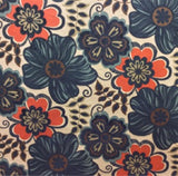 Clementine Turquoise Flocked Velvet Floral Fabric, Upholstery, Drapery, Home Accent, Pentex,  Savvy Swatch