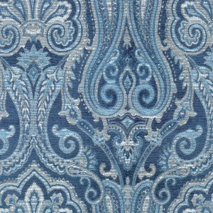 "Waverly Upholstery Fabric 54"". Clubroom Paisley Luna, Upholstery, Drapery, Home Accent, PK Lifestyles,  Savvy Swatch"