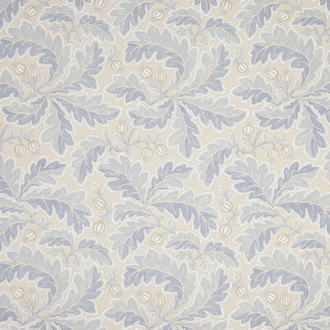 2.2 yards of Melbury Blue designer Colefax & Fowler Fabric, Upholstery, Drapery, Home Accent, Savvy Swatch,  Savvy Swatch