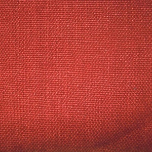 Glynn Linen Crimson Red 353 Home Decorator Fabric by Covington, Drapery, Home Accent, Light Upholstery, Covington,  Savvy Swatch